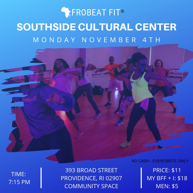 Providence November Afrobeat Fit Sweat Session 2019