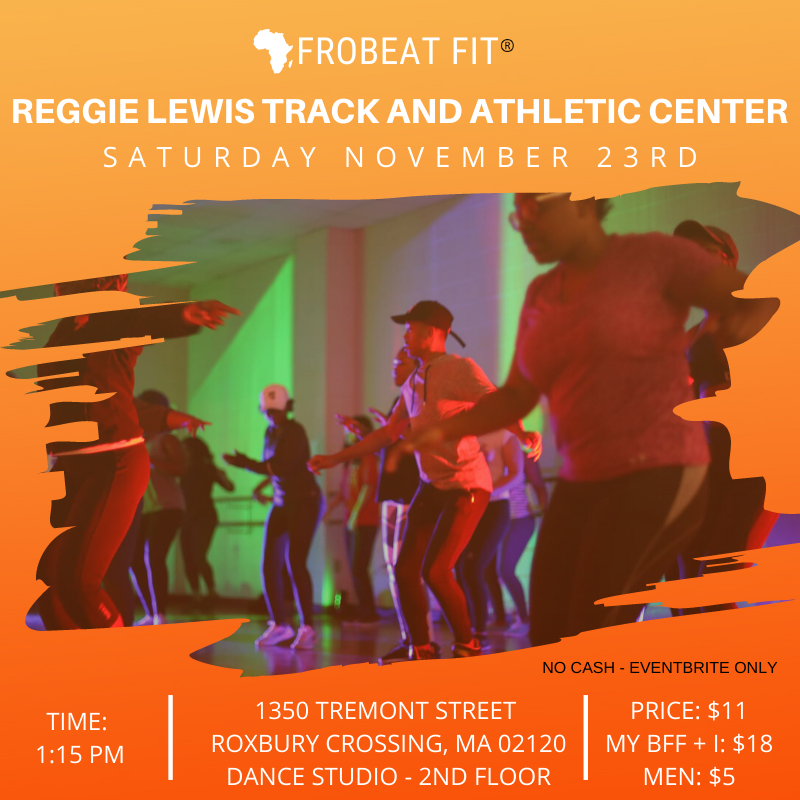 BOS November Afrobeat Fit Sweat Session 2019