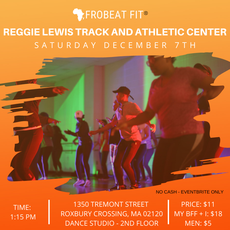 BOS December Afrobeat Fit Sweat Session 2019